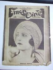 RIVISTA CINEMA MON CINE' N° 446 4 SEPT 1930 MARCELLE CHANTAL   IK-8-143