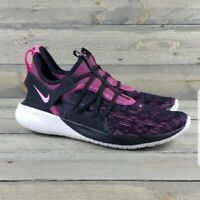 Nike Flex Contact 3 Women's Size 9 Athletic Running Sneakers Pink Black Shoes