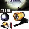 15000LM recargable XM-L T6 LED MTB bicicleta faro delantero w/USB MTB NUEVO ES