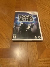 Rock Band 1 (Wii, 2008) Complete