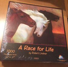SunsOut 1000 Piece Puzzle A Race For Life Robert Lindner (See Description)