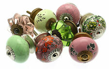 8 x Mixed Shabby Chic Cupboard Knobs Drawer Knobs Kitchen Knobs (MG-04)