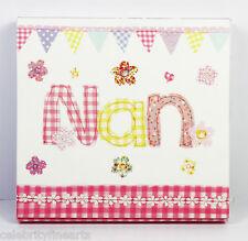 Nan Niñera Nanna Memo Pad Cuadrado Notebook papel de escribir garabatear Presente Regalo Nuevo