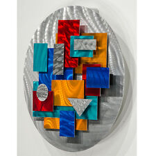 Metal Abstract Modern Wall Art Sculpture by Jon Allen - Constant Variation