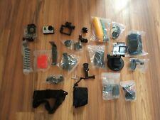 GoPro Hero 3 Videocámara 12Mp-plata con un montón de accesorios