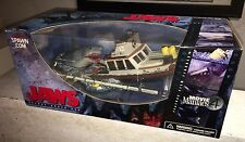 McFarlane Movie Jaws & Quint's Orca Boat Deluxe Diorama Action figure Box Set