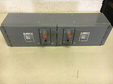FEDERAL PACIFIC QMQB-3336 LIGHTLY USED 3P 30A 600V FUSED SWITCH SEE PICS SHELF C