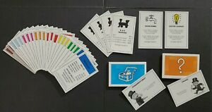 MONOPOLY 2008 Ed- Deed, Chance, Com Chest & Chance Cards ONLY-REPLACEMENT Parts