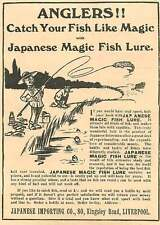 1908 Catch Your Fish With A Japanese Magic Fish Lure Kingsley Road Liverpool
