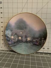 "Thomas Kinkade's 1992 ""Merritt's Cottage"" Collector Plate"