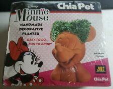 New Chia Pet - Disney Minnie Mouse Handmade Decorative Planter