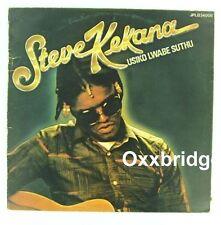 STEVE KEKANA LP Usiko Lwabe Suthu BULLET South African Music VINYL RECORD