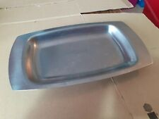 Retro Stainless Steel Serving Tray Dish r136