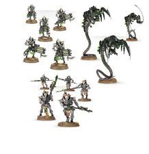 Warhammer 40k Necrons Immortals / Deathmarks x5 Lychguard x5 Canoptek Wraith x 3
