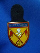 PORTUGAL ARMY MILITARY POLICE PM PE POLICIA EXERCITO BADGE