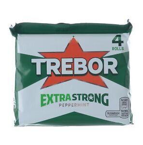 TREBOR EXTRA STRONG MINTS PEPPERMINT X 40