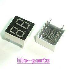 10 PCS 2 Digits 0.36 INCH GREEN NUMERIC LED DISPLAY COMMON ANODE 2 Digit