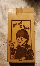 Childs play good guys custom wood wooden dugout
