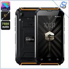 "Geotel G1 Phone Android 7.0 Quad-Core 2GB RAM  Dual-IMEI 3G 5"" HD 7500mAh Orange"