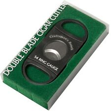 Craftsmans Bench Double Blade Cigar Cutter 54 Ring Gauge  New