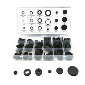 125pcs Car Air Conditioner Sealing Rubber Ring O-ring Protective Coil String Coi