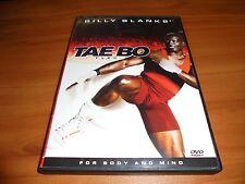 Billy Blanks - Tae Bo Flex (DVD, 2003) Used