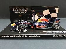Minichamps - Sebastian Vettel - Red Bull - RB6 - 2010 -1:43 -Winner Brazilian GP