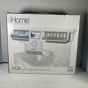iHome iH36 Under Cabinet Kitchen System For iPod - New - Never Used box opened