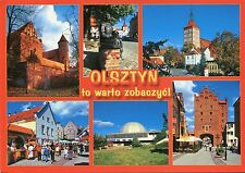 Alte Postkarte - Olsztyn to warto zobaczyc!