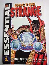 Essential Doctor Strange Tpb Volume 1 Rare Oop 1st Print Stan Lee Steve Ditko