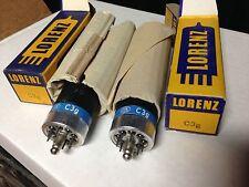 C3G preamp tubes dual triode NOS Lorenz Siemens 300B driver