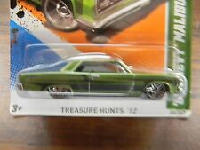 '65 CHEVY MALIBU-HOT WHEELS 2012 -TREASURE HUNT-VHTF~RARE~REGULAR~ T~VHTF