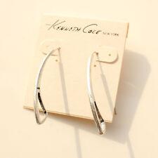 New Vintage Kenneth Cole Big Hook Geometric Pierced Earrings Women Jewelry Gift