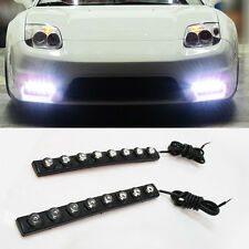 Flexible LED Drl Faros Antiniebla Para Mitsubishi Aspire Carisma Colt Eclipse