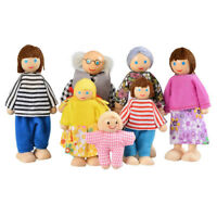 SS Happy Doll Family of 7 People