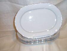 "4 LOT ""KUTAMYA"" Porcelain / China, Oval, Bread / Salad Dishes"