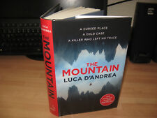 Luca D'Andrea - The Mountain Signed Numbered x/100 1st debut thriller bestseller