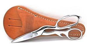 "Case XX  8"" Sportsman Shears  with Leather Sheath"
