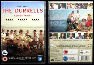 The Durrells : Series 4 Complete (Double DVD) 2019, 2 Entertain - VGC