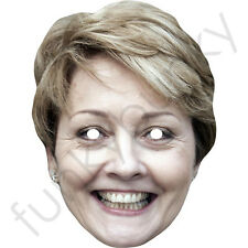 Anne Diamond Celebrity Card Mask - All Our Masks Are Pre-Cut!