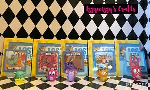 Lost Kitties Series 3 Mice Mania Jimmy Jolt Scooter Fluff Nugget Macho Mouse +
