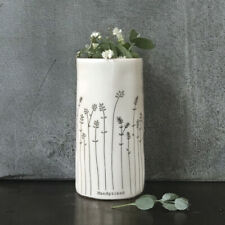 East of India Handpicked Boxed White Porcelain Decorative Vase Collection Gift