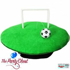 FUNNY FOOTBALL HAT WITH BALL AND GOAL Novelty Sport Soccer Stag Do Hat 7811