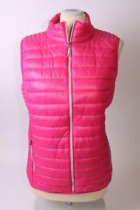 Green Lamb Ladies Jillian Padded Vest - UK 10 - Pink