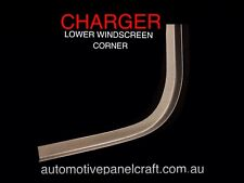 VALIANT CHARGER FRONT  WINDSCREEN CORNER LEFT