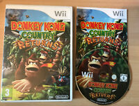 Donkey Kong Country Returns Wii Game With Manual