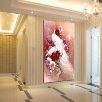 DIY 5D Diamond Embroidery Painting Cross Stitch Rhinestone Peacock Home Decor