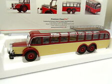 Premium Classixxs 1/43 - Bus Car Bus Mercedes O10000 Red