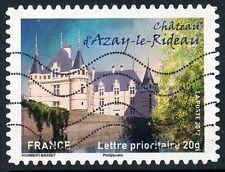 TIMBRE FRANCE AUTOADHESIF OBLITERE N° 727 / CHATEAU D'AZAY LE RIDEAU