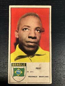 1962 PELE' BRASILE EDIZIONE Stella Soccer NEW NEAR MINT CONDITION EXTRA RARE